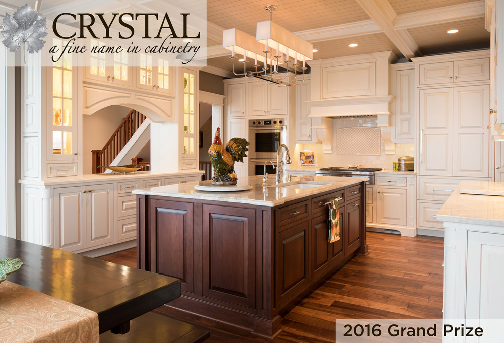 Nor-Son receives 2016 Grand Prize Design Award - Kitchen Remodel from Crystal Cabinetry