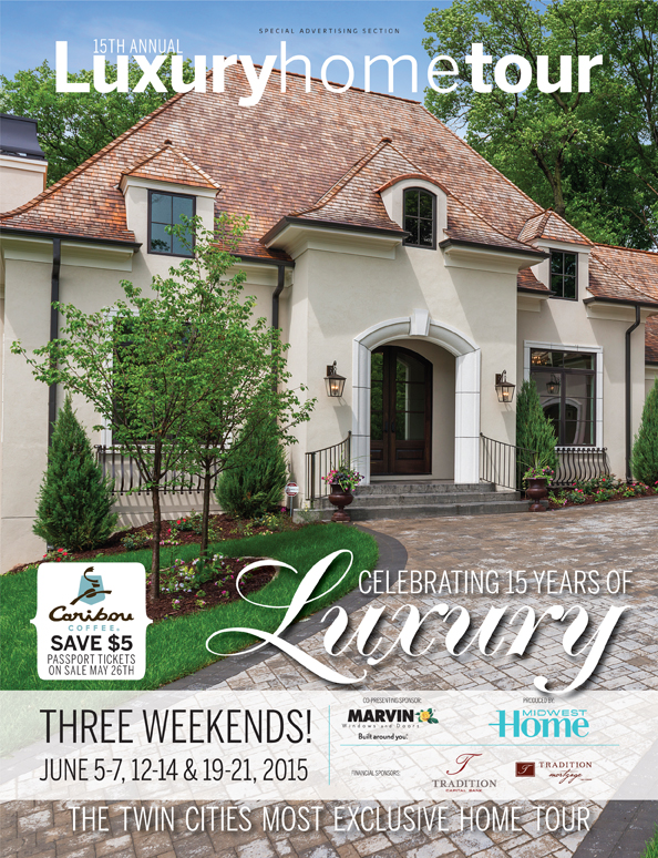 Midwest Home Luxury Home Tour magazine cover