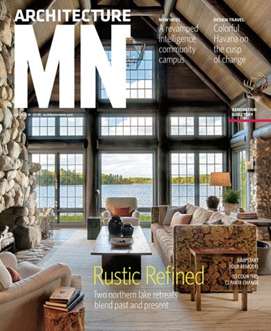 Nor-Son collaboration with Rehkamp Larson featured on cover of Architecture MN