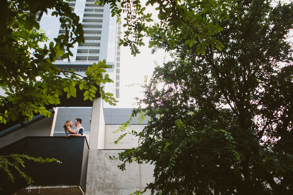 W Hotel Engagement Session