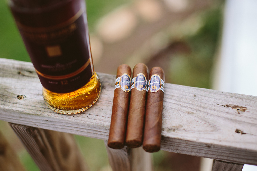 Cigars and Scotch | Lisa Woods Photography
