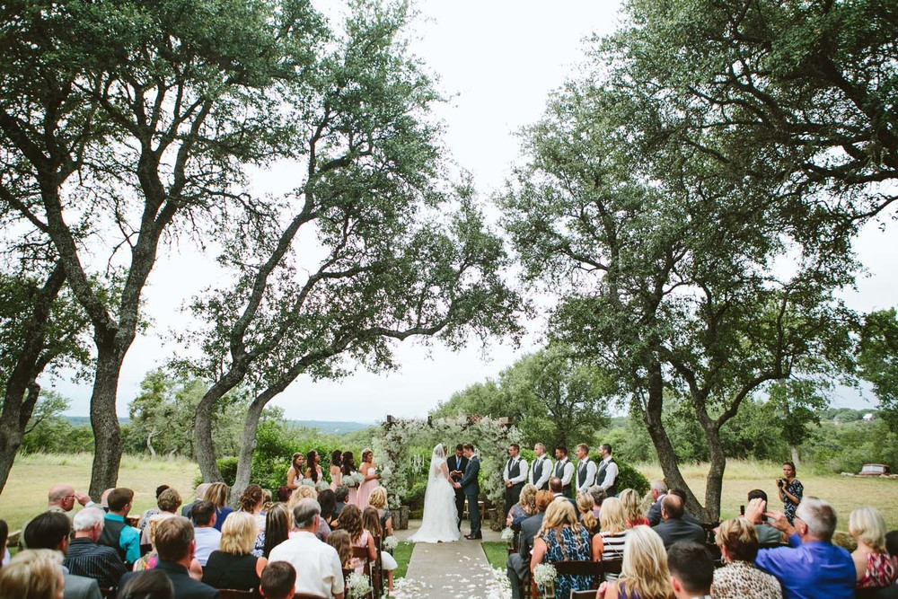 Outdoor wedding at Vista West Ranch  | Lisa Woods Photography