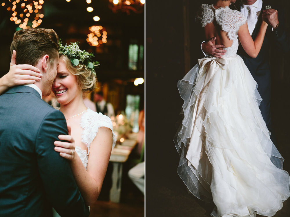 Bride and Groom First Dance | Lisa Woods Photography