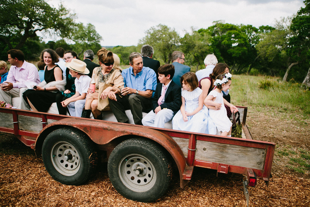 Wedding Hayride | Home Ranch Wedding | Lisa Woods Photography