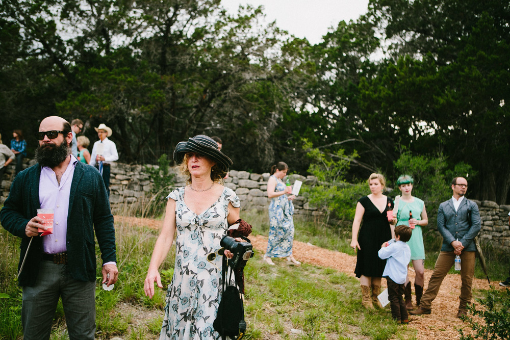 Home Ranch Wedding Guests | Hill Country of Texas | Lisa Woods Photography