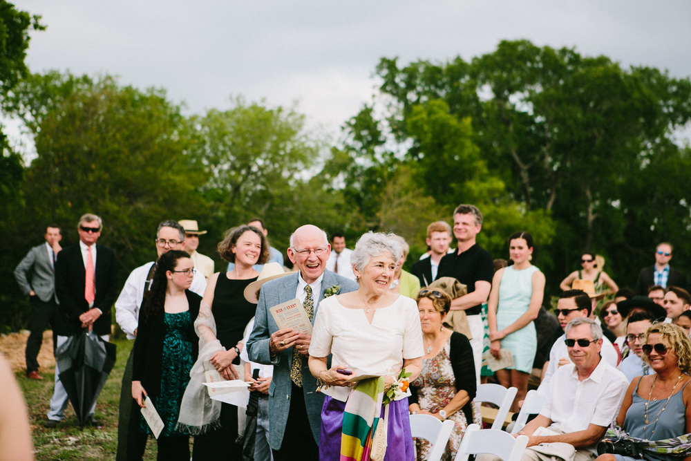 Happy Wedding Guests | Home Ranch Wedding | Lisa Woods Photography