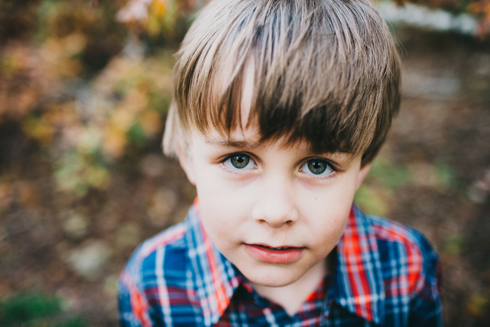 Boy with Beautiful Eyes | Family Photography Walnut Creek Park | Austin, Texas | Lisa Woods Photography