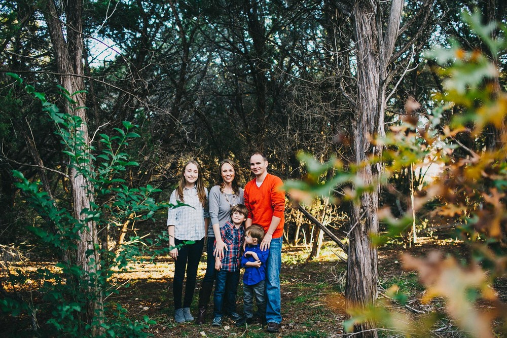 Walnut Creek Park | Austin Family Portrait Session | Lisa Woods Photography