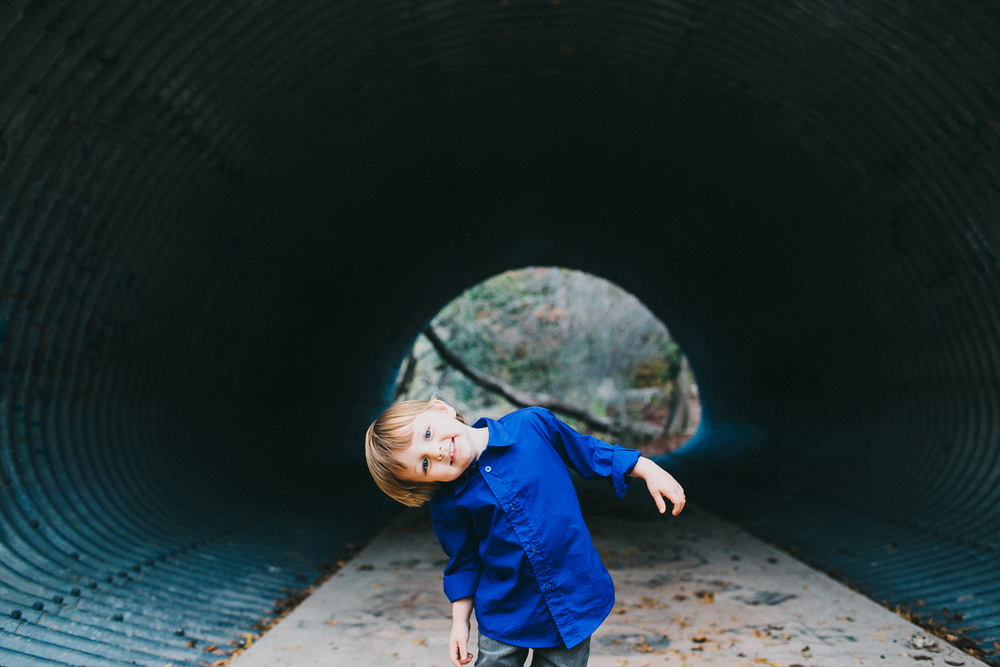 Cute Boy Urban Outdoor | Austin Family Photography | Lisa Woods Photography