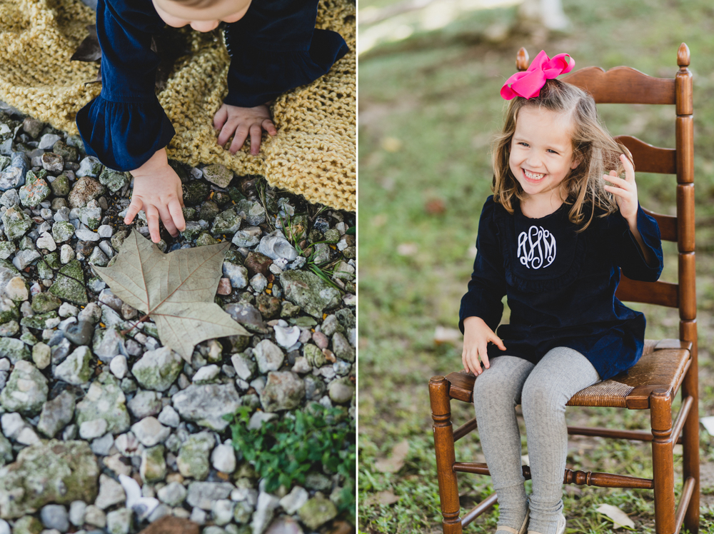 Houston Texas Family & Baby Fall Family Portraits | Lisa Woods Photography