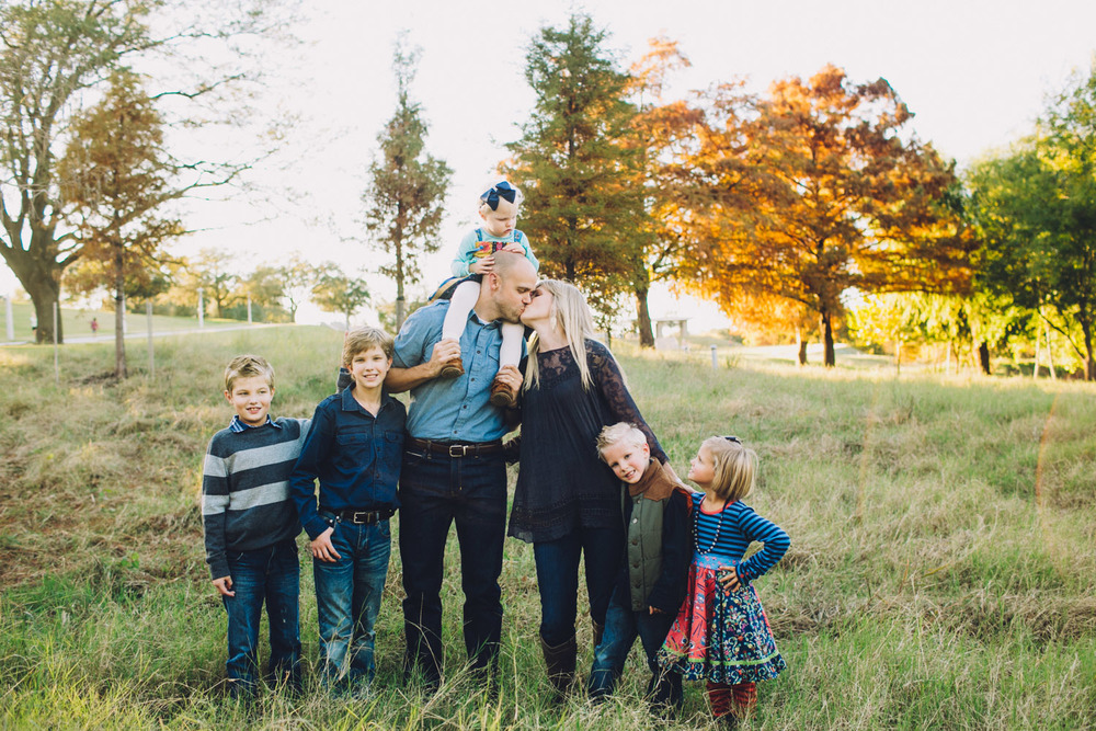 Large Family | Holiday Family Portraits | Houston Texas | Lisa Woods Photography