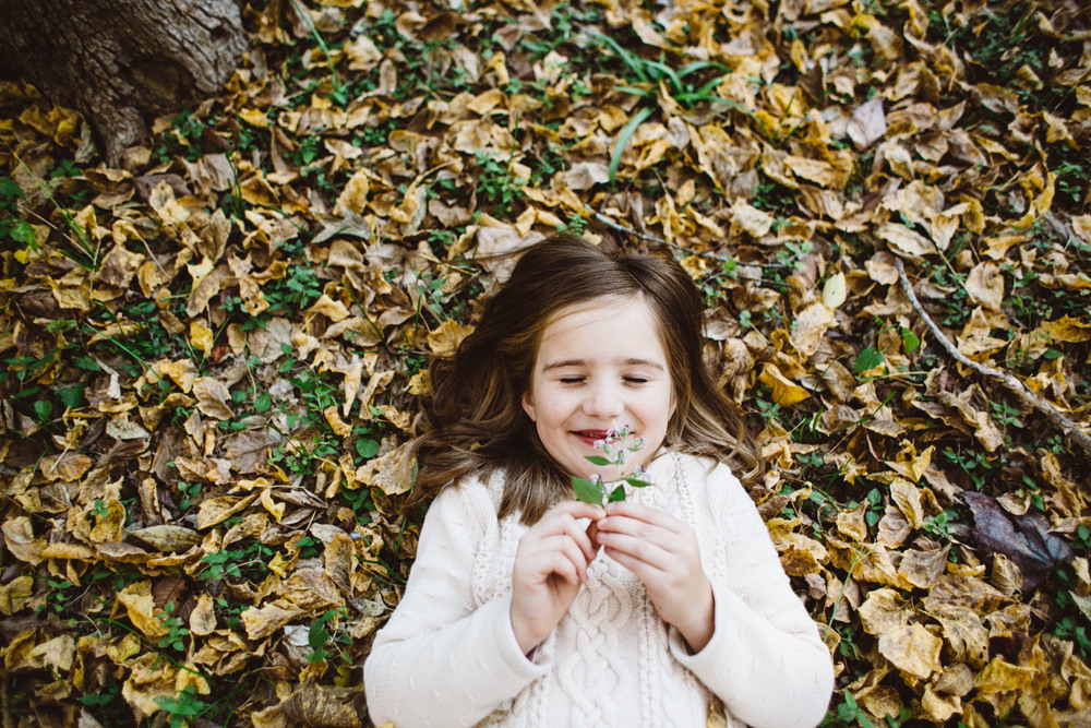 Fall Happiness | Houston Holiday Family Portraits | Lisa Woods Photography