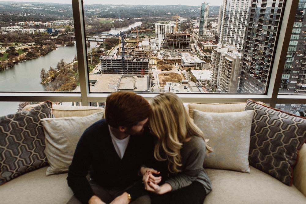 Engagement Couple Portrait | Austin Texas | Lisa Woods Photography