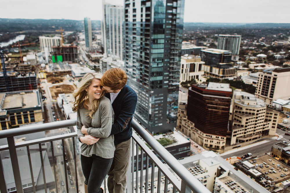 Urban Engagement Session | Austin Texas | Lisa Woods Photography