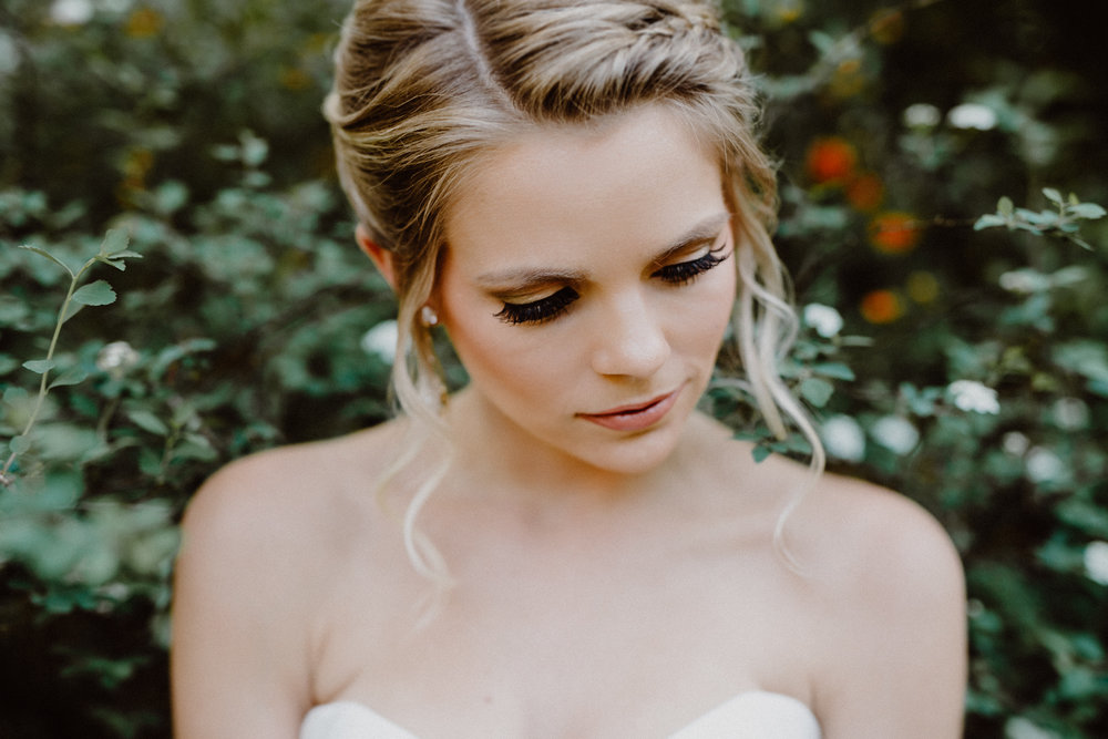 mayfield park bridal portrait