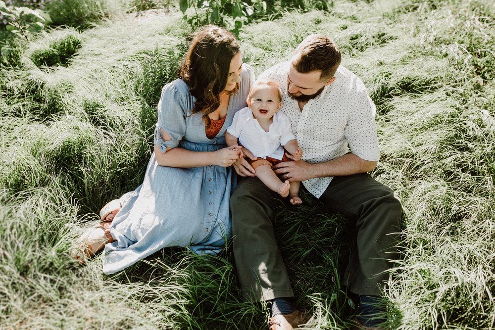 Mueller park family session