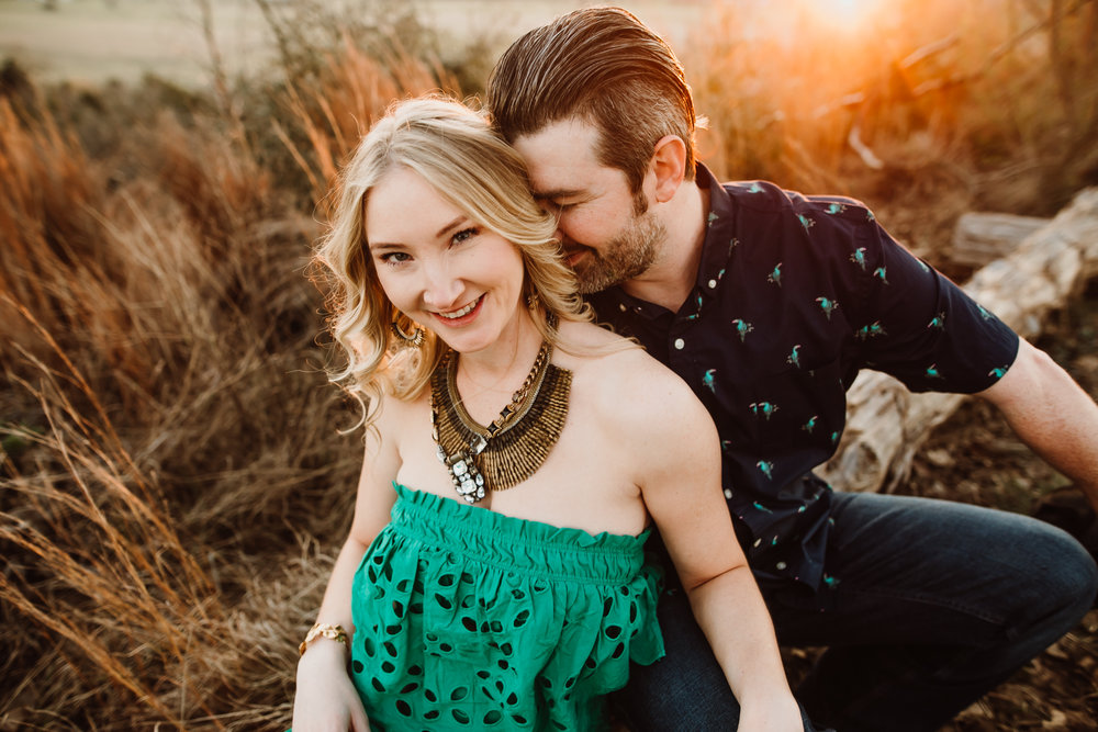 buescher state park engagement session
