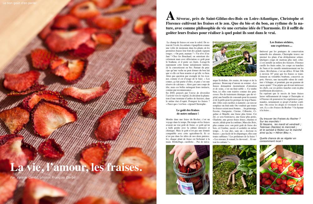 Les fraises du Rocher. Cliquez ici pour accéder au document.