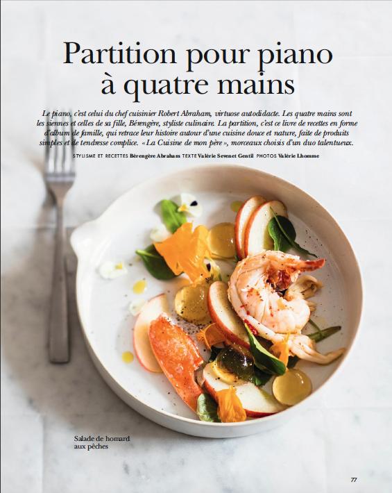"""Côté Ouest / """"La Cuisine de mon père"""", Bérengère et Robert Abraham."""