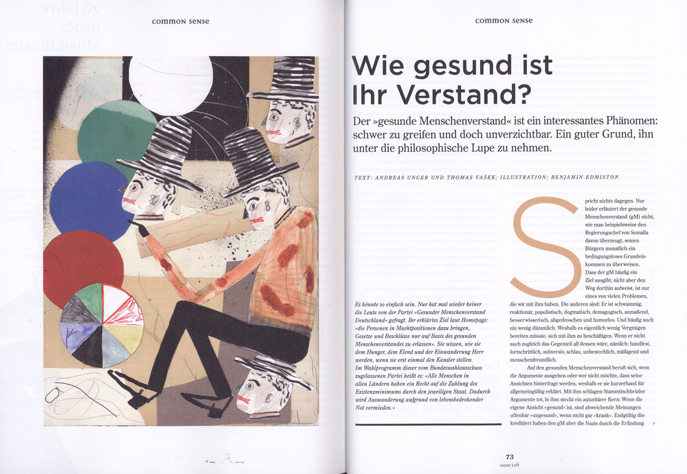 HOHE Luft  Magazine           August 2014 Issue       http://www.hoheluft-magazin.de/