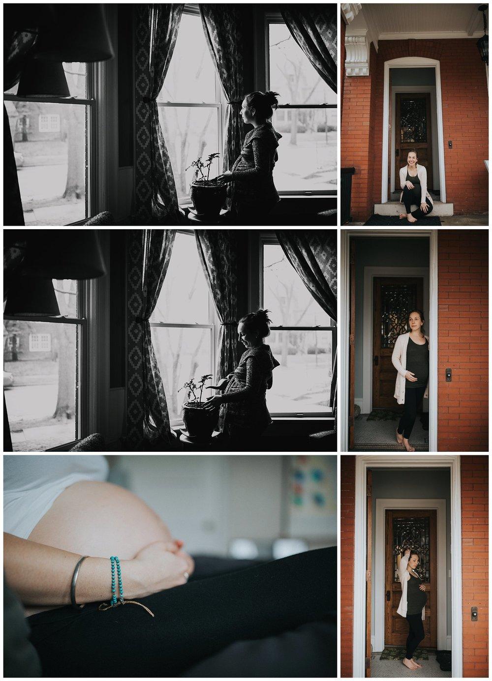 Milwaukee Lifestyle Maternity Photographer