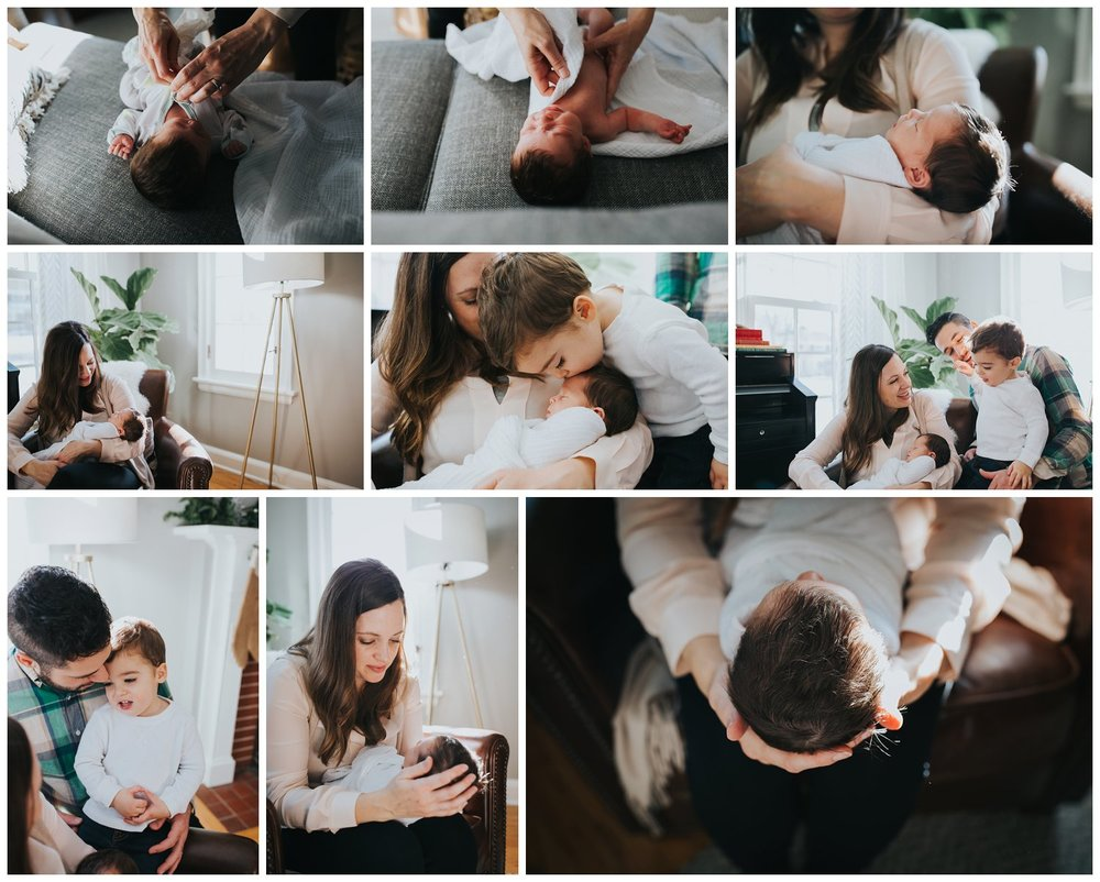 Milwaukee Lifestyle Newborn Photographer