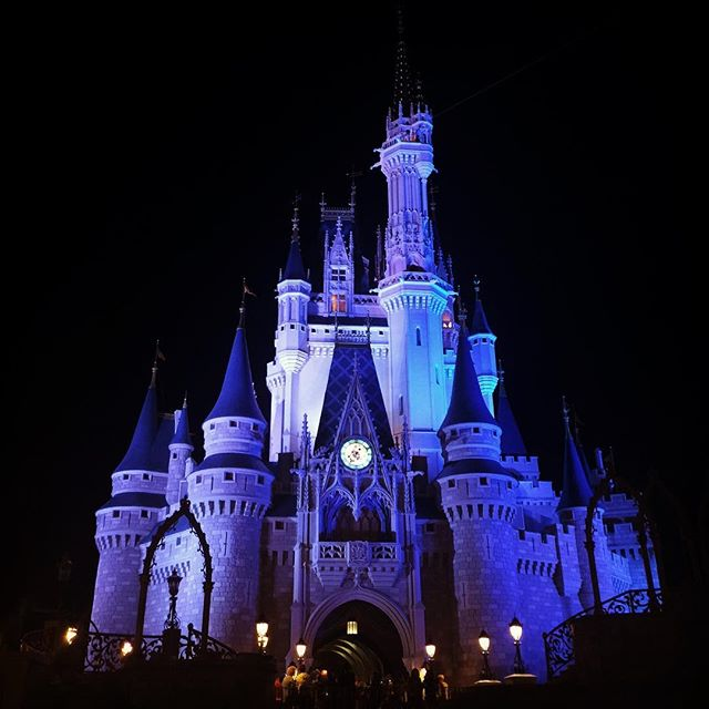 It is a magical place! #Disney #magickingdom #castle #disneyworld #capecodoutlaws