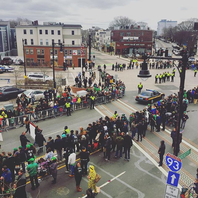 #tbt to #southieparade day 🍀 #andrewsquare