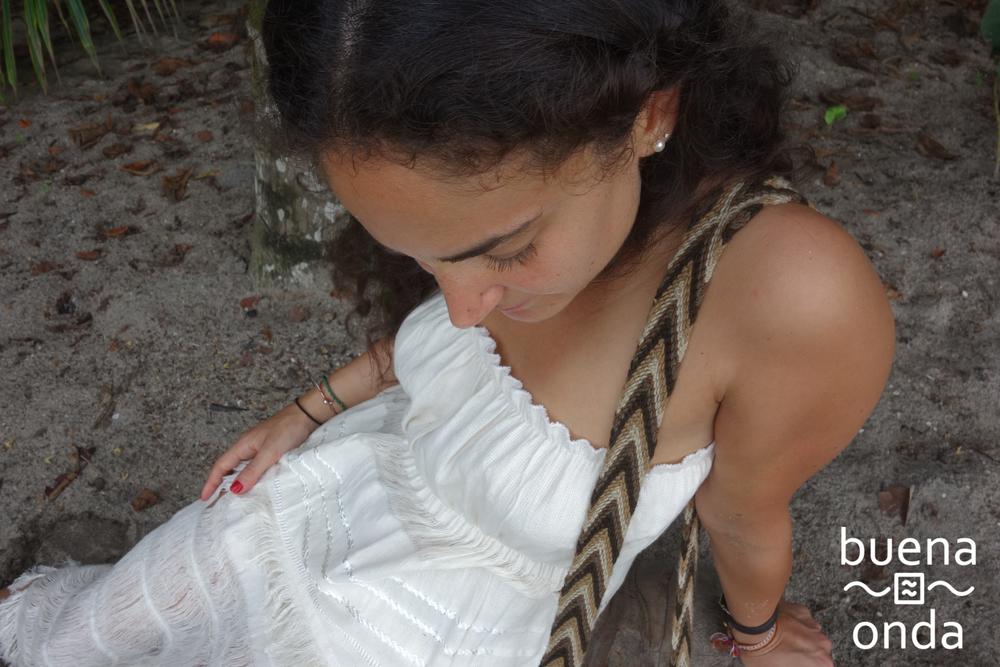 Ilana in the jungle