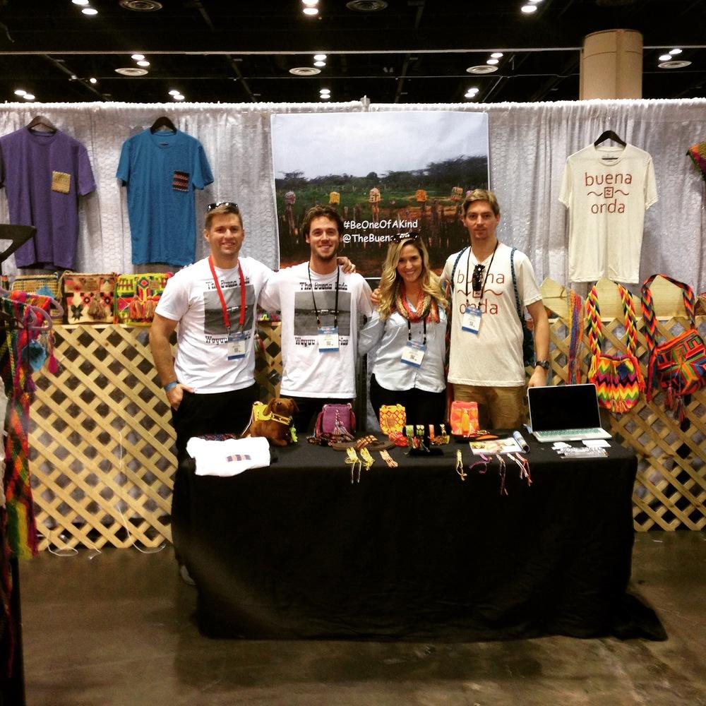 The Buena Onda Crew at Surf Expo.