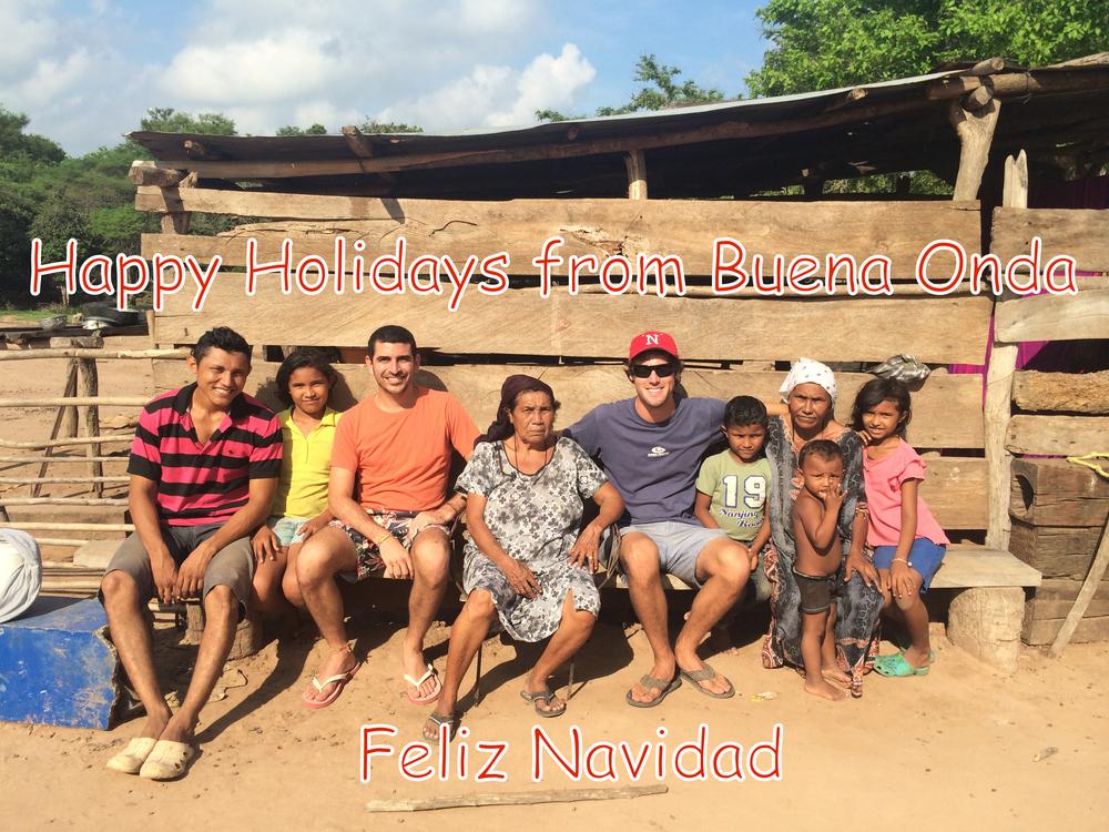 Feliz Navidad from Buena Onda!