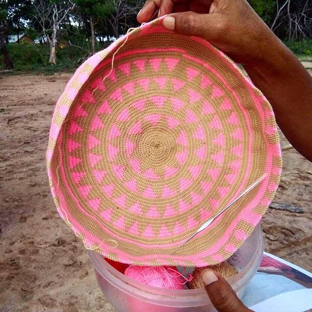 Wayuu Bottoms 😁... #handmade #fairtrade #wayuupeople #wayuu #colombianbags