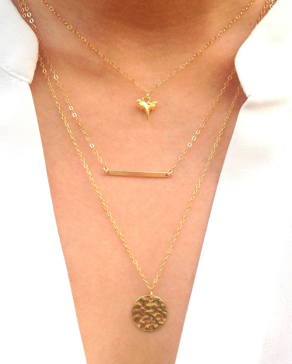 How to Layer Necklaces Like Youve Been a Stylist for 30 Years recommend