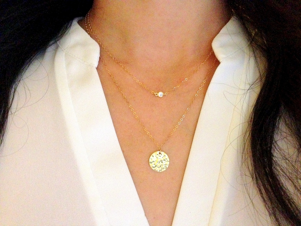 Tips on How To Layer Necklaces — Boy Cherie- Delicate ...