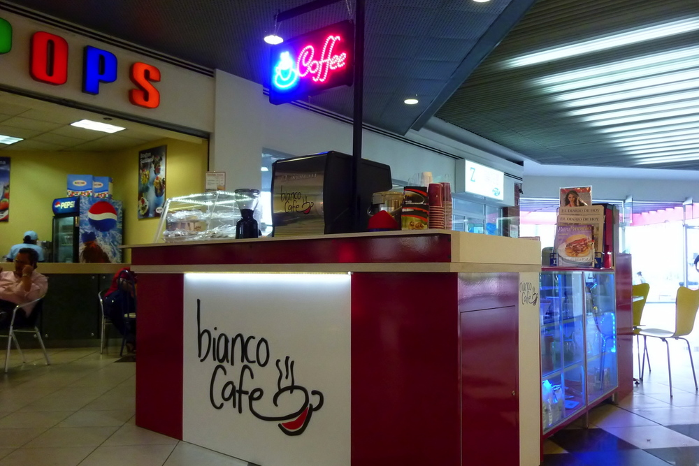 Bianco Cafe     Address:  Las Cascadas Mall, Antiguo Cuscatlan