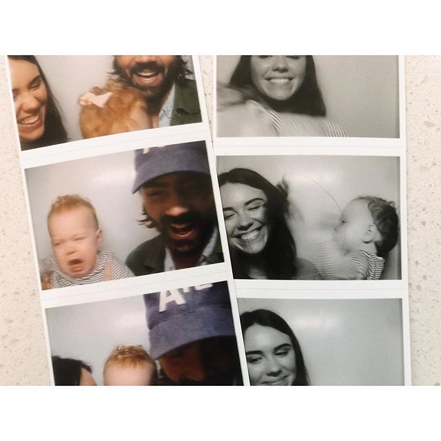 Taking pictures with a one year old...
