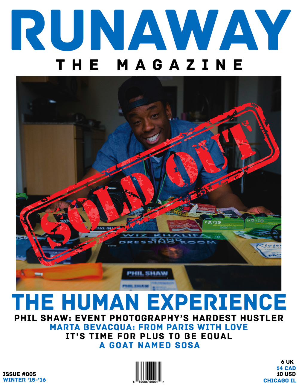 ISSUE #005: THE HUMAN EXPERIENCE (CLICK TO READ ONLINE)