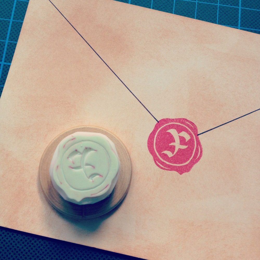 """F"" Letter Wax Seal Stamp"