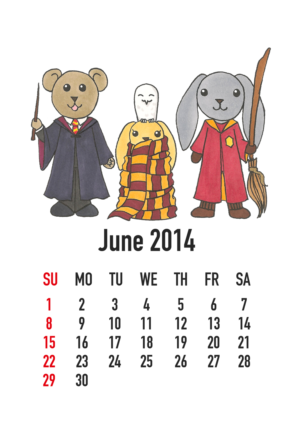 June 2014: Harry Potter