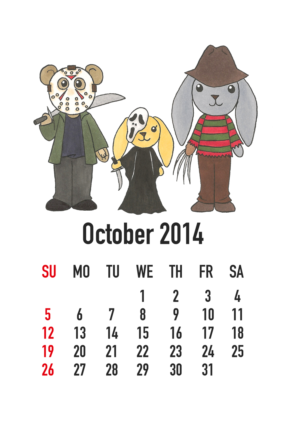 October 2014: Horror Movies