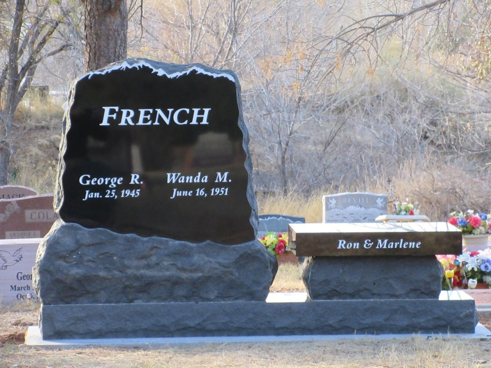 Monument Bench in Lyons, Colorado