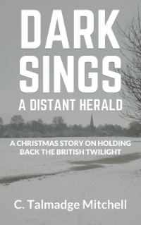 Dark Sings A Distant Herald   is is the first novel in the  Distant Herald  series. Set in the not too distant future of the English Midlands, the story explores how youth, unable to accept an eroding British identity, defy their new leadership and head off on a journey of discovery and adventure.