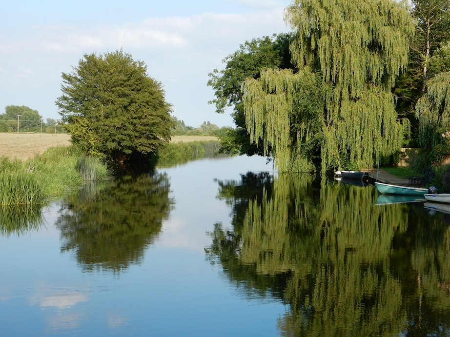River Great Ouse, Hemingford Abbots, UK (July 2014)