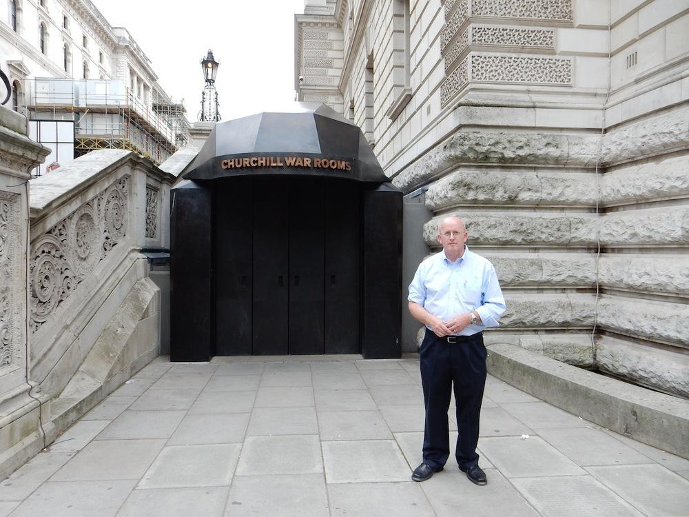 Churchill War Rooms, King Charles St, London, UK (July 2014)