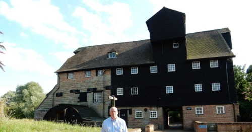 Houghton Mill, the Fens, Cambridgeshire, UK (Jul 2014)