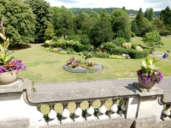 Parade Gardens, River Avon, Bath, UK (an amazing example of an English garden)