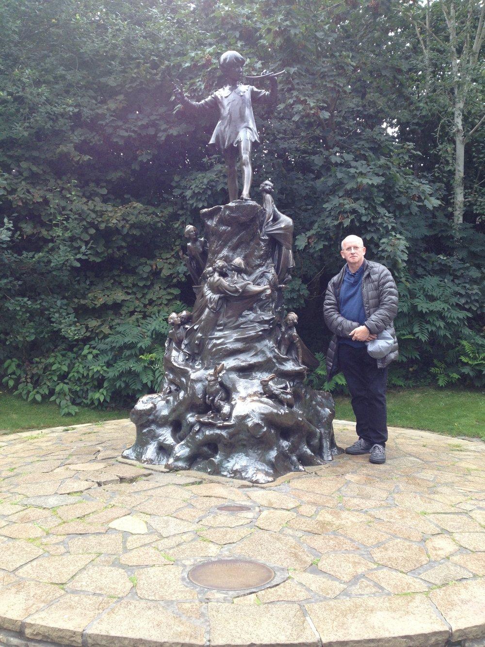Peter Pan Statue, Kensington Gardens, London (Sept 2017)