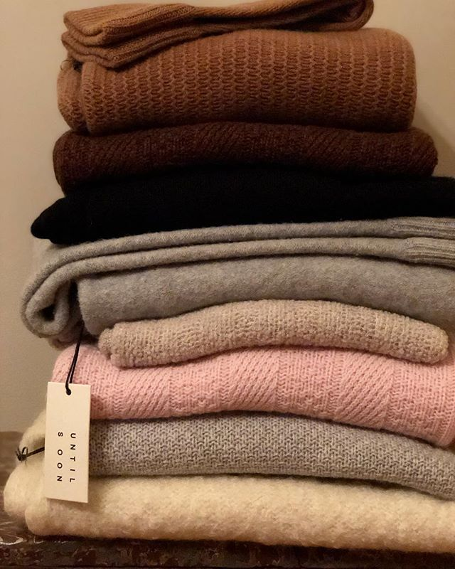 this weeks forecast... #cashmere #luxuriousmodernlayers #untilsoon . SALE - 40% off and free shipping continues - use codes UNTILSOON40 + FREESHIP at check out !! #cozy #shopsmall #layers #nyc #ny #brooklyn #fw17 #collection #texture #bundleup