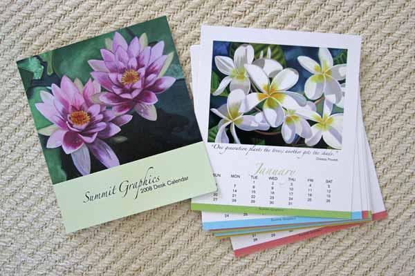 Summit Printing Calendar