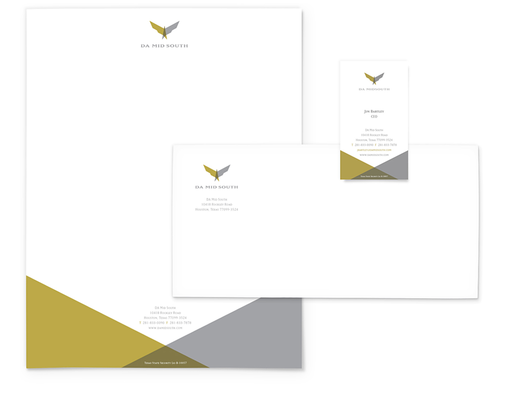 LOGO DESIGN / BRANDING / STATIONARY / BUSINESS CARD / PROTECTION / PRISM DESIGN, INC / HOUSTON, TEXAS